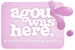 Agou was here : graphisme, illustration, jeux